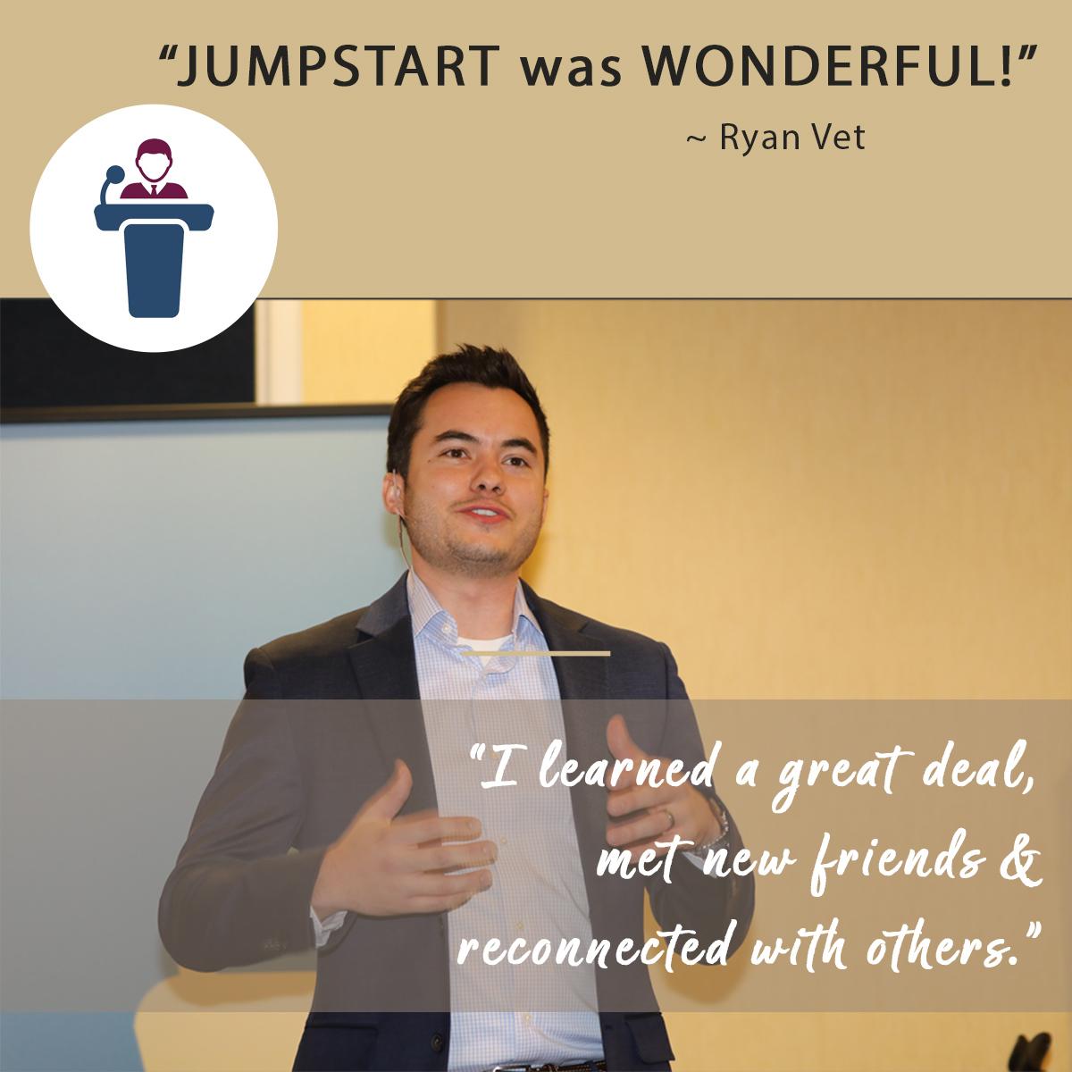 Sandra Berger review on Jumpstart Dental Meeting